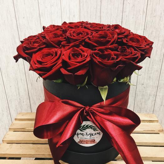 Коробка роз для любимой
