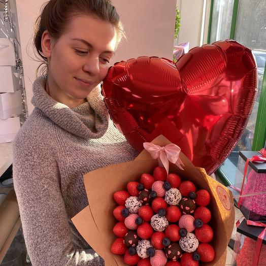 Супер любовь: букеты цветов на заказ Flowwow