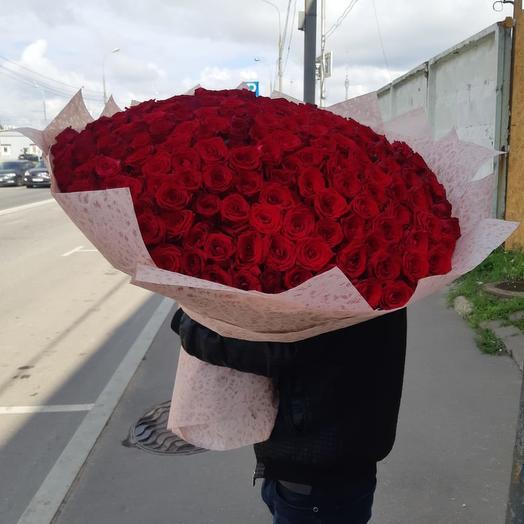 Огромный букет роз (80 см) 💝