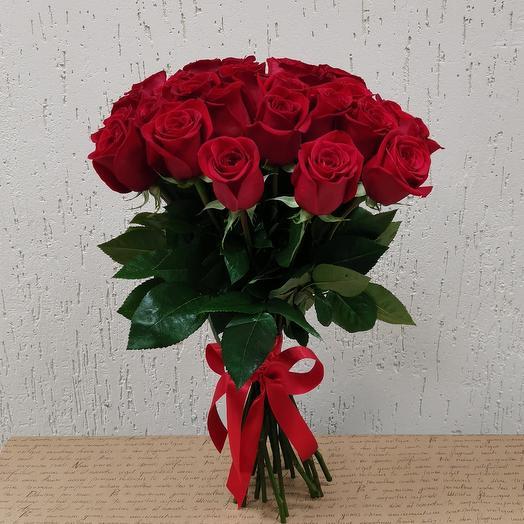 "Букет 25 роз ""Эквадор 50см"""