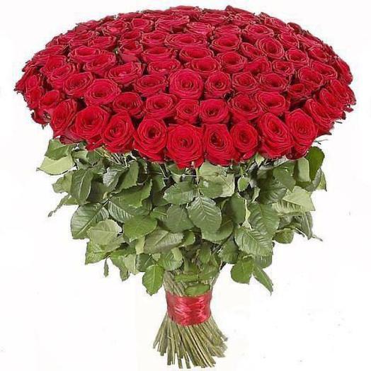Букет моно Роза 501