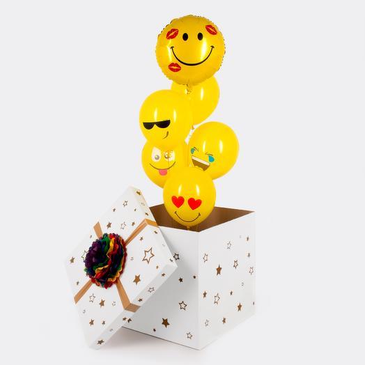 """Коробка-сюрприз """"Веселые эмоции"""""""