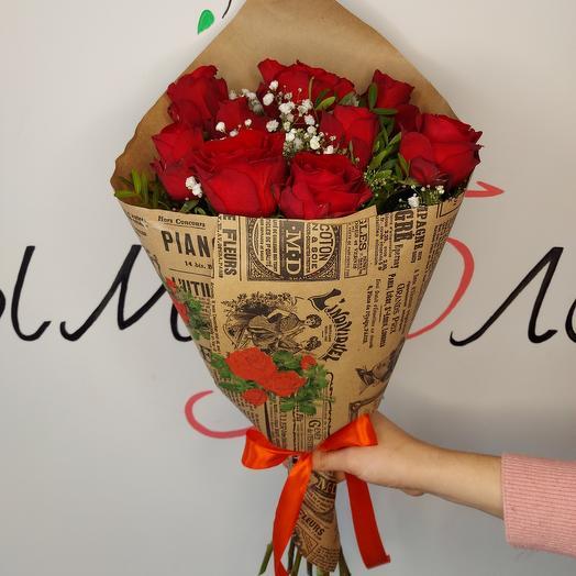 Букет роз ☆ 14