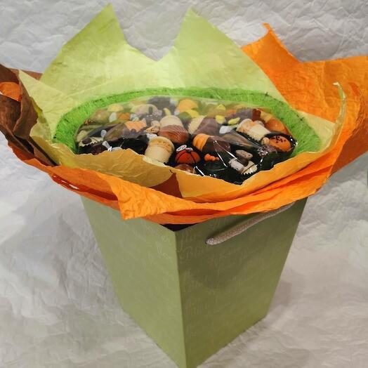 Букет из конфет ручной работы FRENCH KISS SPB 042009