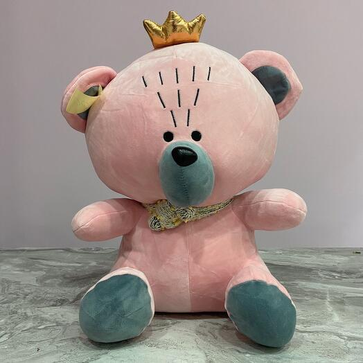 Игрушка Медведь с короной