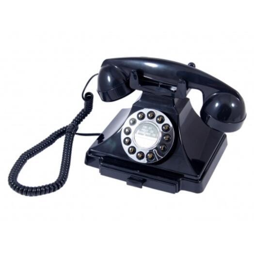 """Телефон ретро """"Черный оникс"""""""