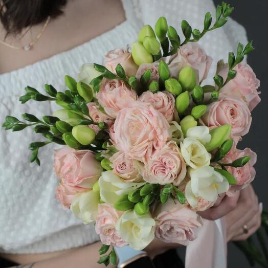 Свадебный букет «Бомбастик»