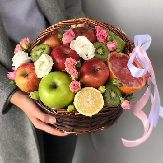 Милейшая корзинка фруктов