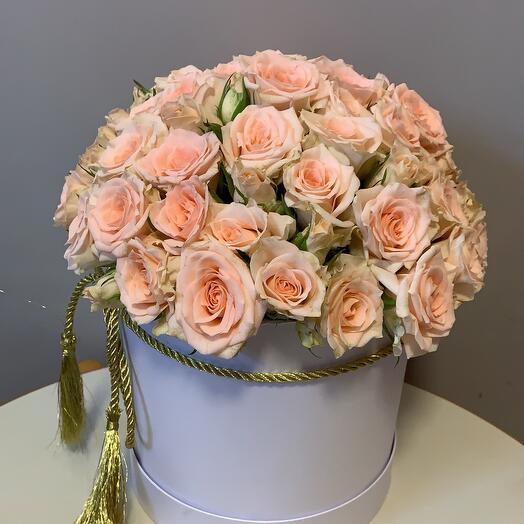 Коробка Роза кустовая 15шт