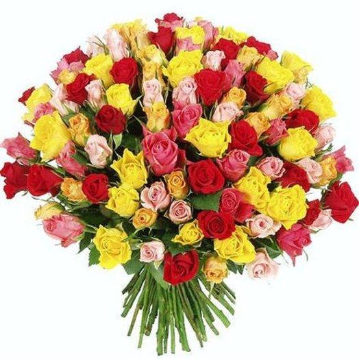 101 роза в Петербурге (Акция)