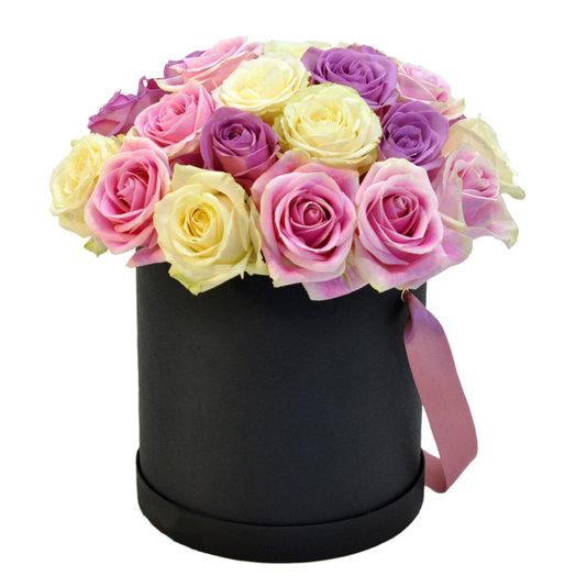 Коробка Акварель: букеты цветов на заказ Flowwow