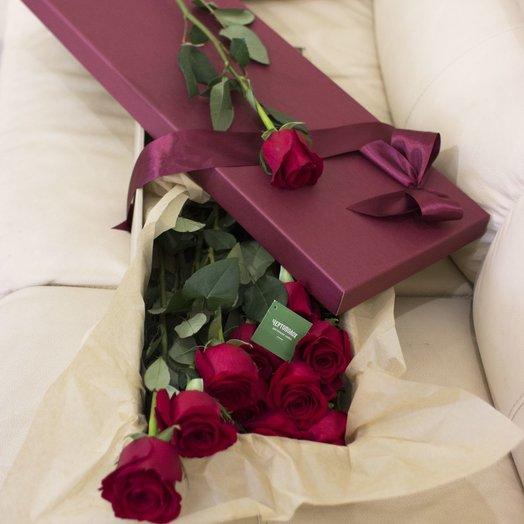 Стильный сюрприз: букеты цветов на заказ Flowwow