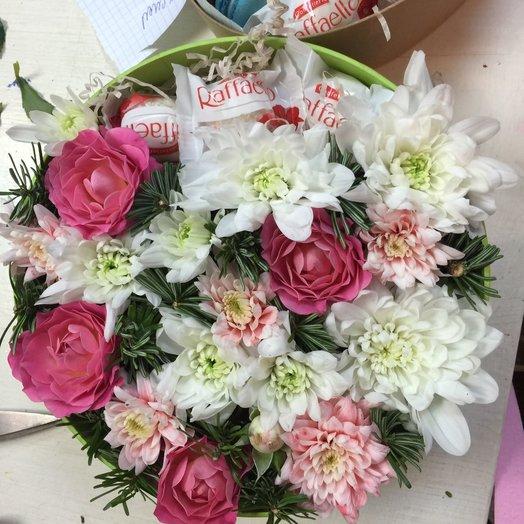 Коробочка цветов: букеты цветов на заказ Flowwow