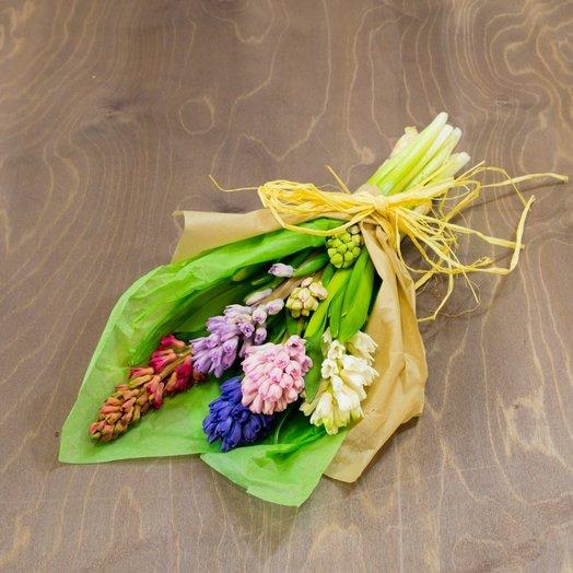 Гиацинт 5шт / Mix in Green: букеты цветов на заказ Flowwow