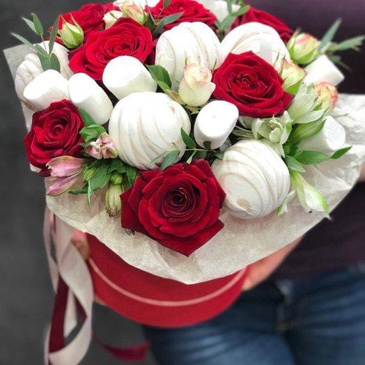 Сладкоежкам: букеты цветов на заказ Flowwow