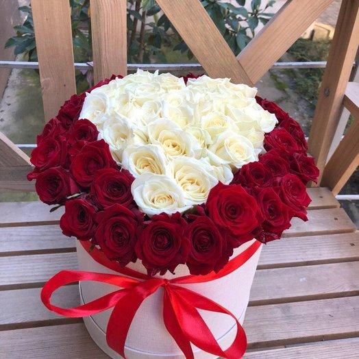 Стрела Амура: букеты цветов на заказ Flowwow