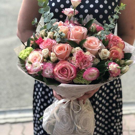 Нежный блюз: букеты цветов на заказ Flowwow