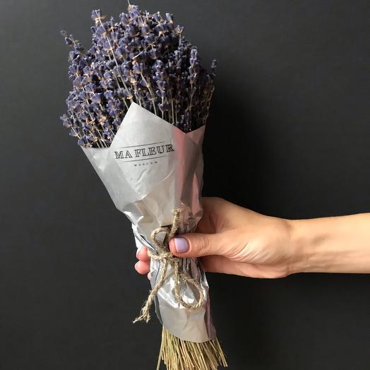 Букет из лаванды: букеты цветов на заказ Flowwow