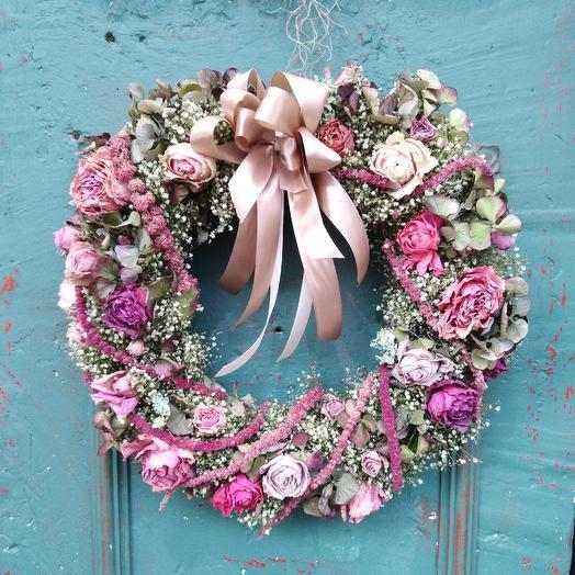 Декоративный венок: букеты цветов на заказ Flowwow