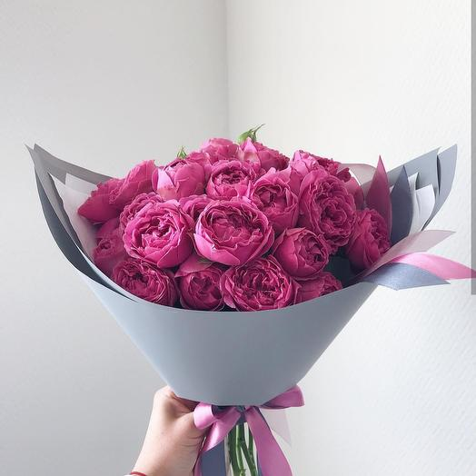 "Букет ""Мисти Баблз"": букеты цветов на заказ Flowwow"