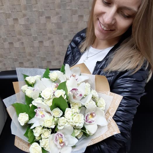 Трепетная любовь Z12: букеты цветов на заказ Flowwow