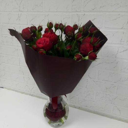 Роза пионовидная: букеты цветов на заказ Flowwow