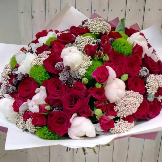 """Букет""""Абриза"""": букеты цветов на заказ Flowwow"""