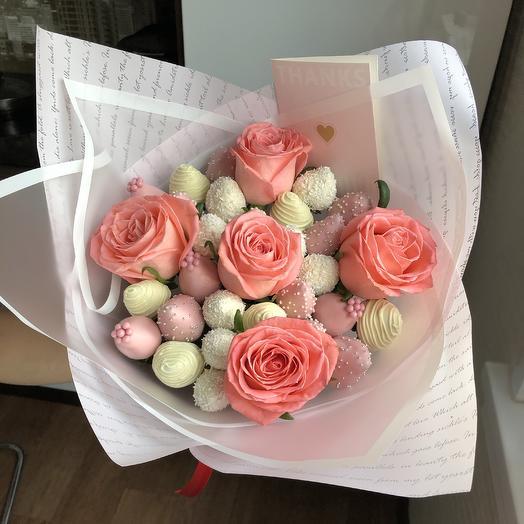 Букет FLOWER BERRY: букеты цветов на заказ Flowwow