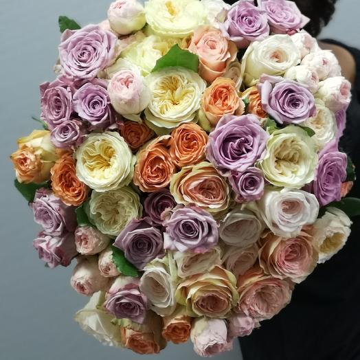Миксроза: букеты цветов на заказ Flowwow