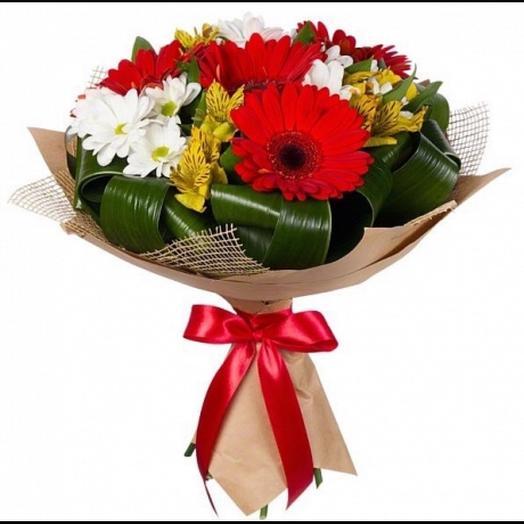 Букет преподавателю ,,Первый звонок,,🛎: букеты цветов на заказ Flowwow