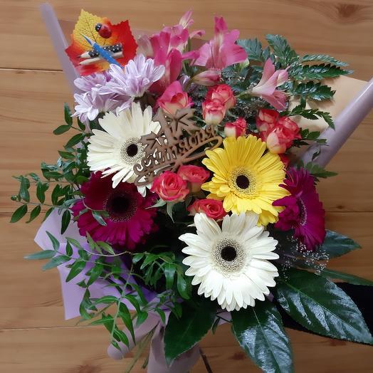Букет на 1 Сентября 16: букеты цветов на заказ Flowwow