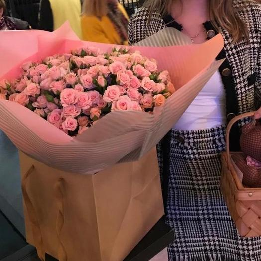 Вот это да: букеты цветов на заказ Flowwow