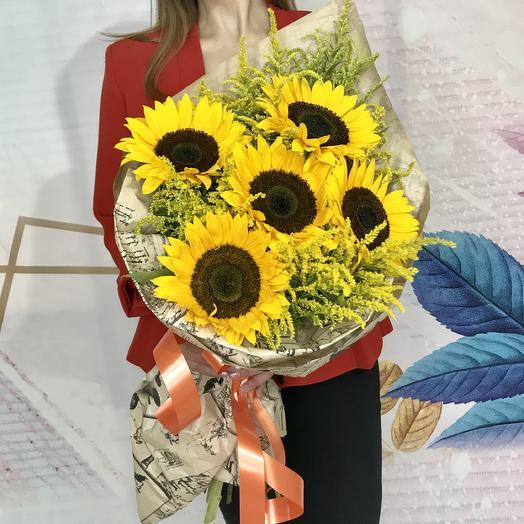 Солнышки: букеты цветов на заказ Flowwow