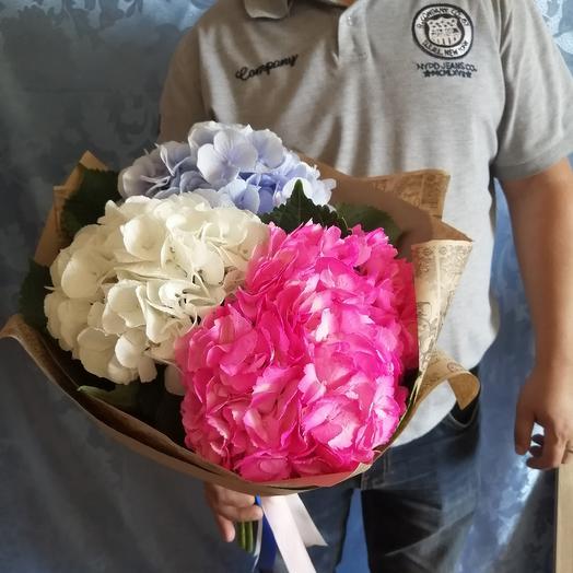Милый триколор: букеты цветов на заказ Flowwow