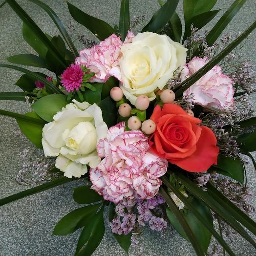 Корзина Летний сбор: букеты цветов на заказ Flowwow