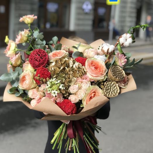Вип букет для Вип персоны: букеты цветов на заказ Flowwow