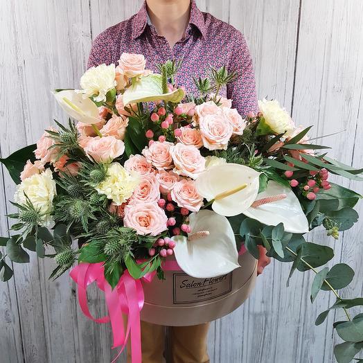 Пышный сад: букеты цветов на заказ Flowwow