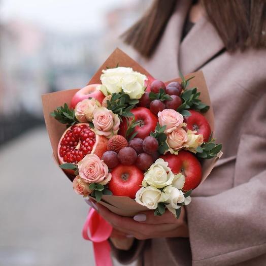 Яблочные дольки: букеты цветов на заказ Flowwow