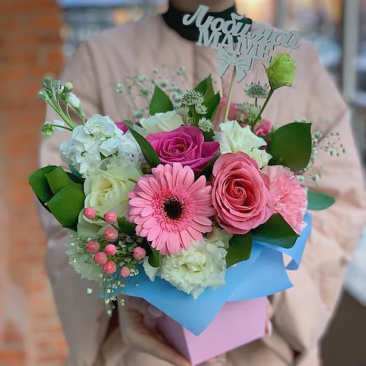 Для лучшей мамочки: букеты цветов на заказ Flowwow