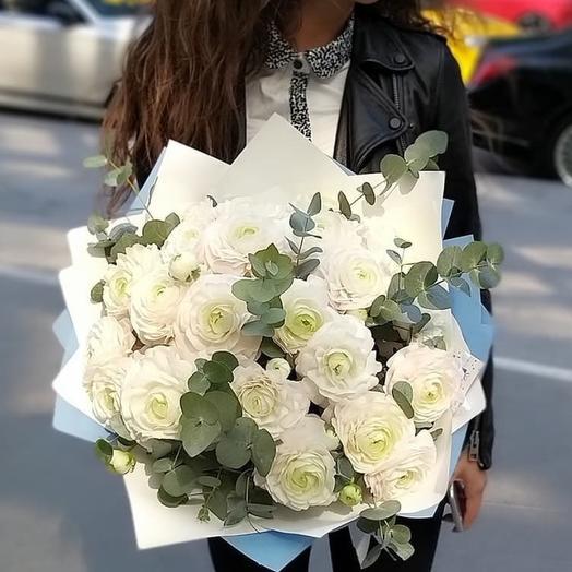 Ванильное облако: букеты цветов на заказ Flowwow