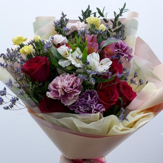 Bouquet mix: flowers to order Flowwow