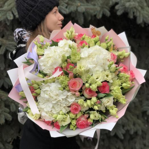 Воздушный букет: букеты цветов на заказ Flowwow