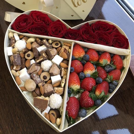 Сердце с вкусным наполнением