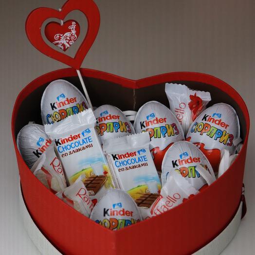 Много сладкого: букеты цветов на заказ Flowwow