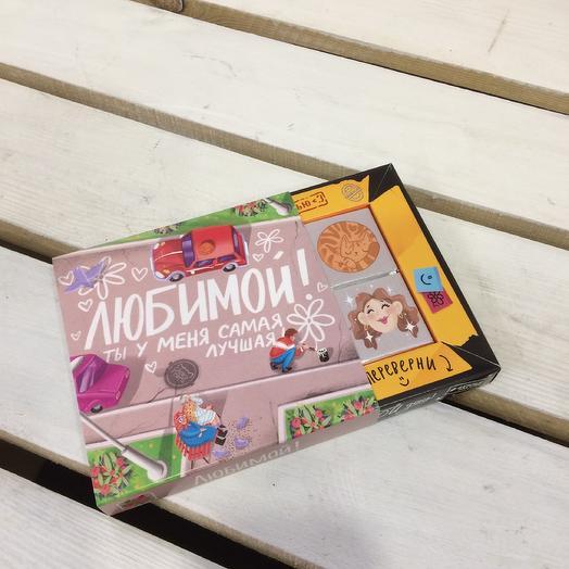 Шоколад «Для любимой»: букеты цветов на заказ Flowwow