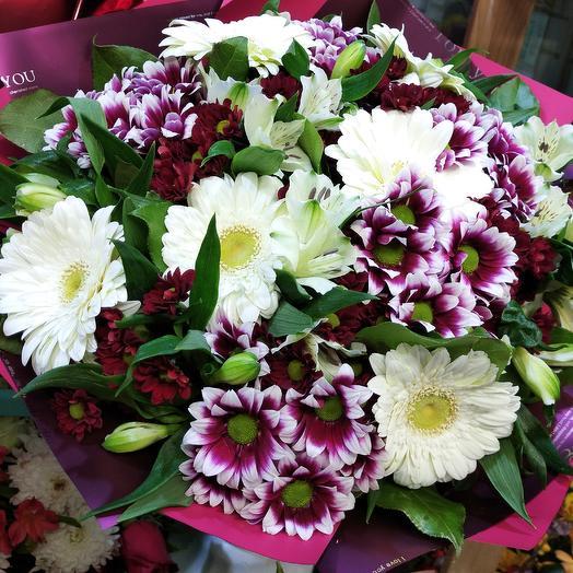 Полевой расцвет: букеты цветов на заказ Flowwow