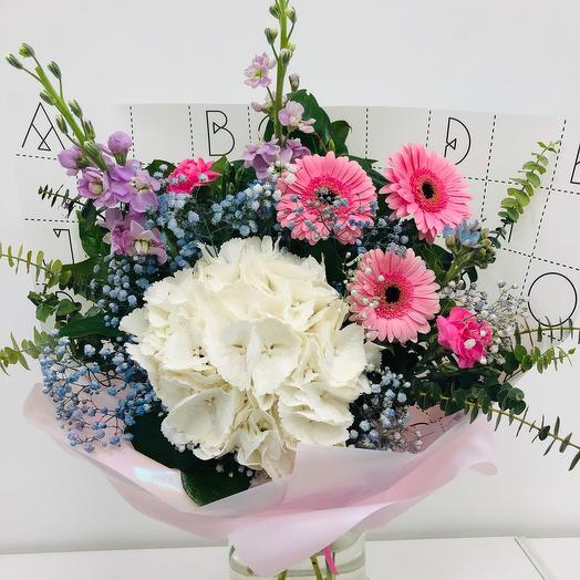 Букет Белл-розовое облако: букеты цветов на заказ Flowwow