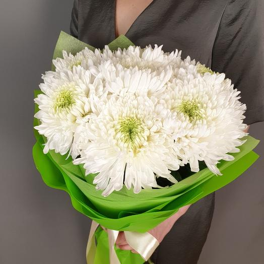 Гигантские хризантемы Магнум: букеты цветов на заказ Flowwow