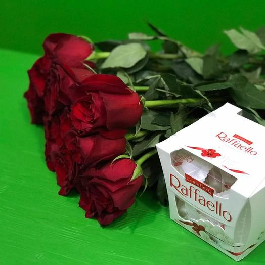 Розы и рафаэлки