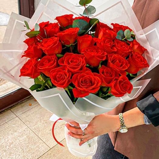Букет моно Роза: букеты цветов на заказ Flowwow
